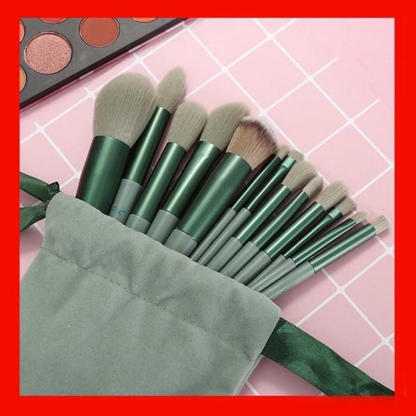 Bộ Cọ Trang Điểm Makeup Fix Set 13 Cây Hàng Nội Địa Trung Quốc