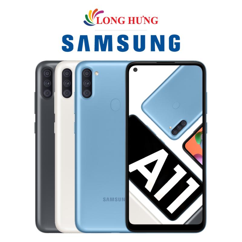 Điện thoại Samsung Galaxy A11 (3GB/32GB) - Hàng chính hãng - Màn hình tràn viền 6.4  HD+ bộ 3 Camera sau Pin 4000mAh cảm biến vân tay