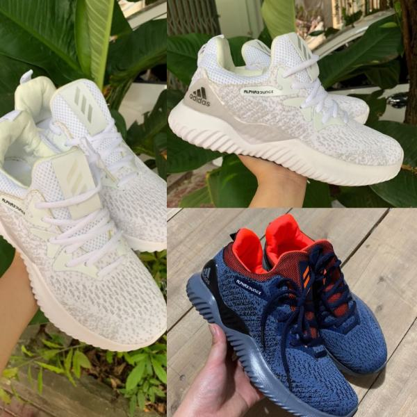 [ảnh thật+ video] Giày thể thao nam sneaker Alphabounce addidasss