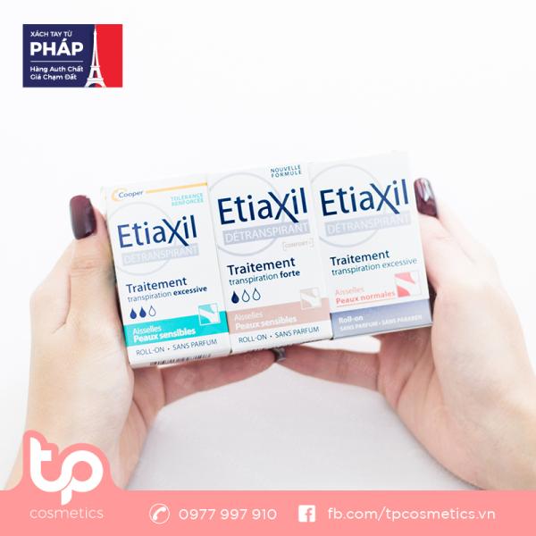 Lăn Khử Mùi Etiaxil Peaux Sensibles Ngừa Mồ Hôi, Hôi Nách 15ml