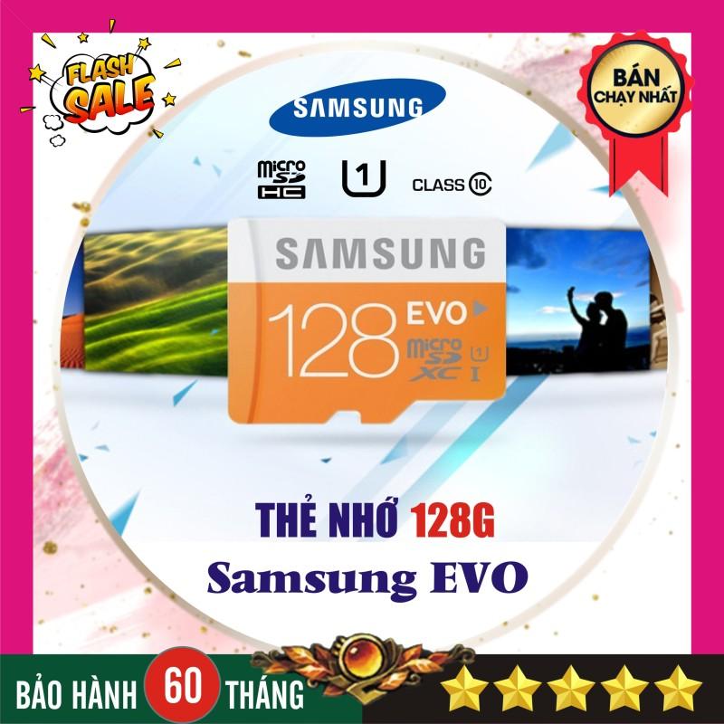 Thẻ nhớ 128GB Samsung Evo plus (Kèm Adapter SD) - Nhập khẩu Bảo hành 5 năm!