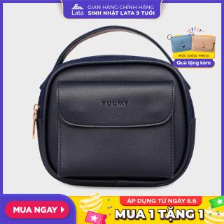 Túi đeo chéo nữ thời trang đa năng YUUMY YN44 chất liệu da tổng hợp cao cấp mềm mại, bền đẹp, dễ dàng vệ sinh thumbnail