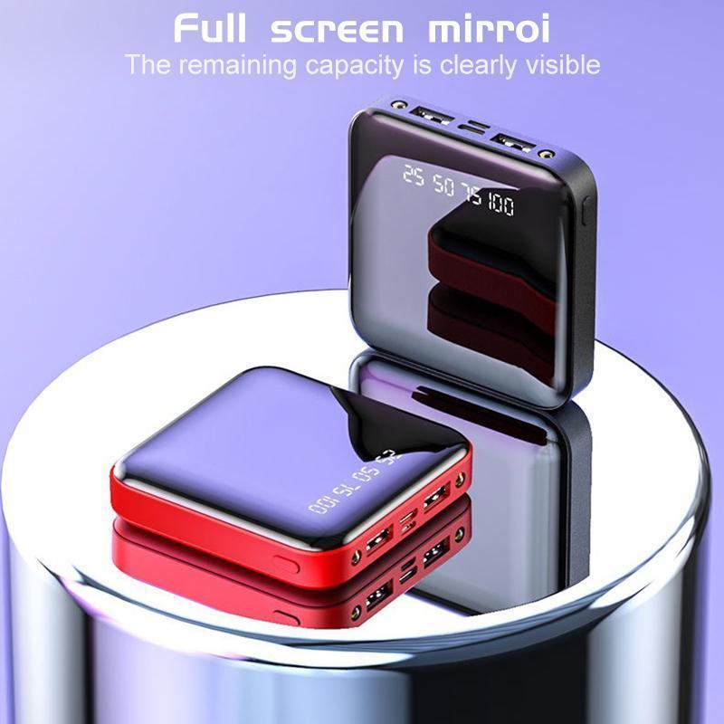 Giá [ Siêu Sale ] Pin sạc dự phòng Mini 20000mAh Power Bank