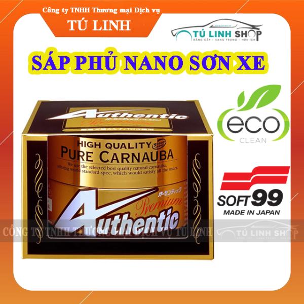 Phủ Nano sơn ô tô cao cấp từ thiên nhiên Authentic Premium E - Soft99 ( Sáp phủ Nano Cao Cấp )
