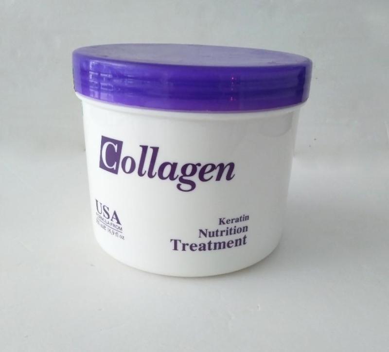 Hấp dầu Tiwan collagen 500ml cao cấp