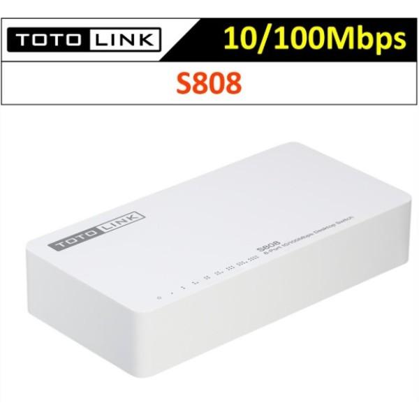 Bảng giá Switch TOTOLINK S808 8-Port 10/100Mbps Phong Vũ