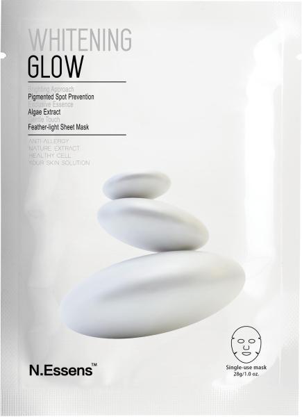 N.Essens Mặt Nạ Làm Trắng Da Mặt Whitening Glow 28ml/pc