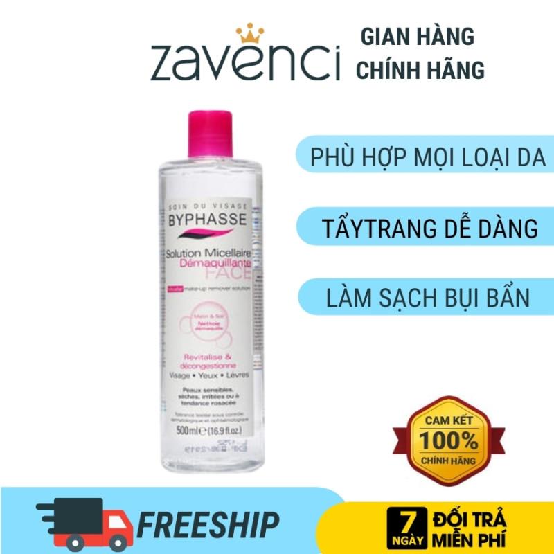 Nước tẩy trang DATE2024 byphasse zavenci phù hợp mọi loại da- tẩy trang dễ dàng - loại bỏ bụi bẩn (80ml) nhập khẩu