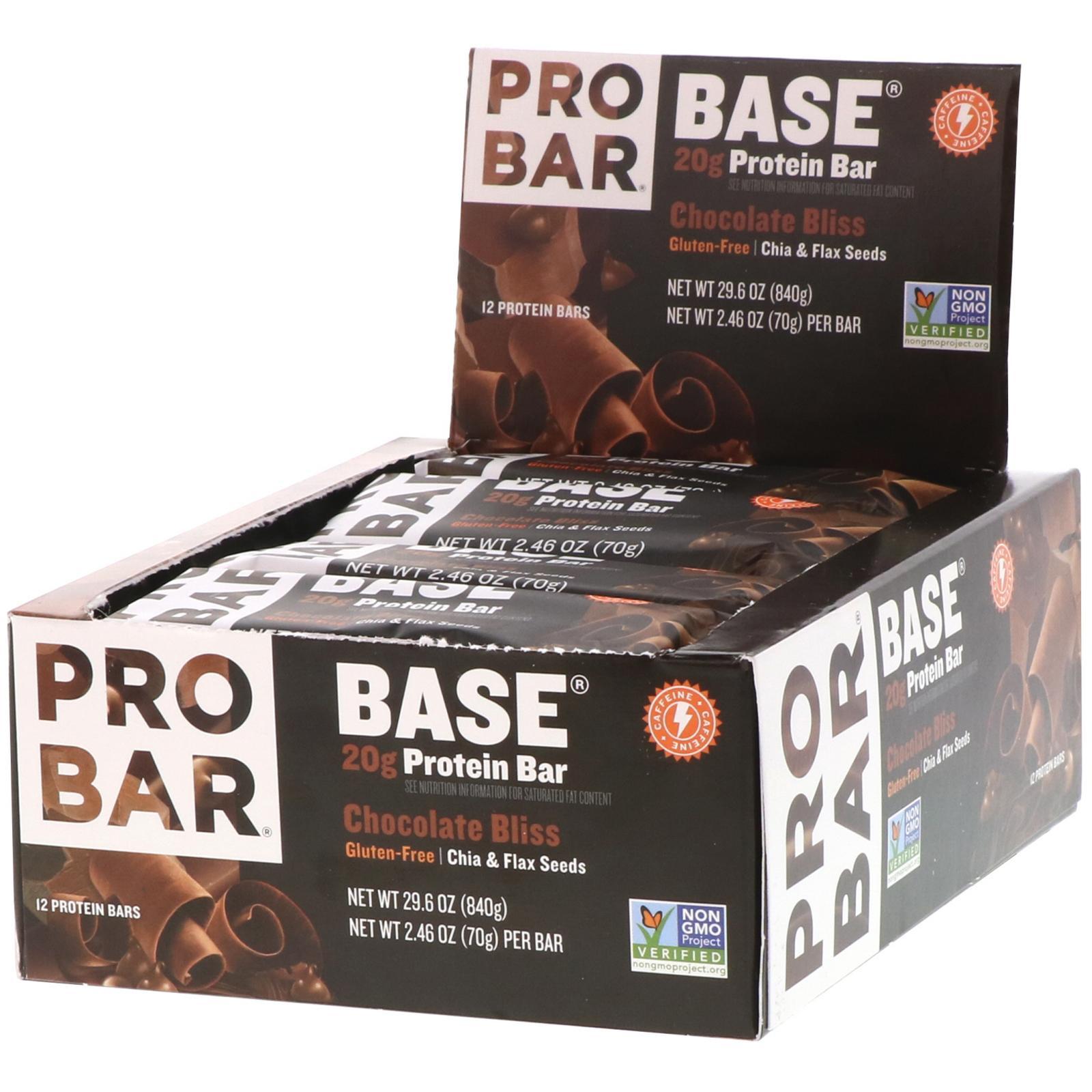 Whey Protein Bar : PRO BAR 850g ( 12 thanh ) nhập khẩu USA - 20g Protein/thanh nhập khẩu