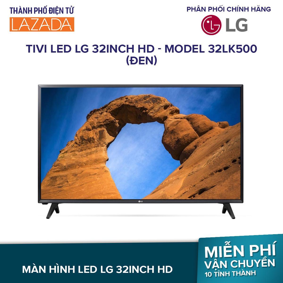 Tivi LED LG 32inch HD - Model 32LK500 (Đen)