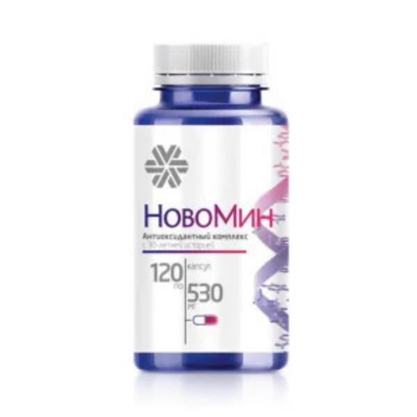 [Mẫu mới] Thực phẩm bảo vệ sức khỏe Formula 4 Novomin Siberian - 120 viên - Date T1/2023 nhập khẩu