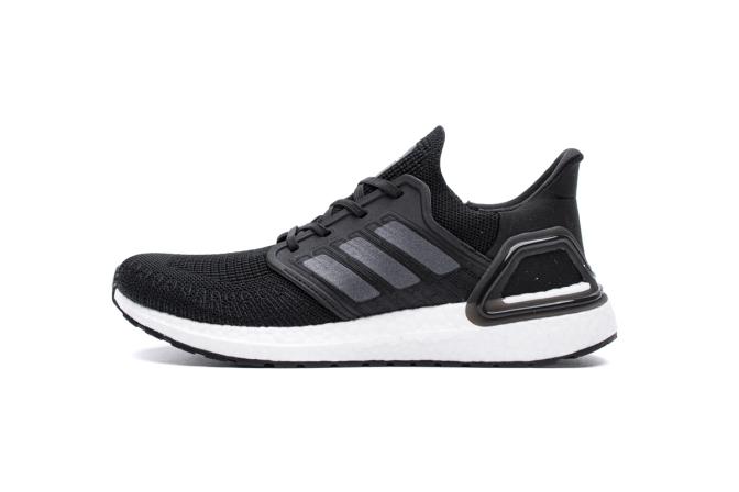 Giày chạy bộ adidas Ultra Boost 20 Core Black giá rẻ