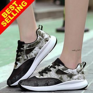 Giày Thể Thao Nữ ZOCEN, Giày Lưới, Giày Đi Hàng Ngày Kiểu Hàn Quốc thumbnail