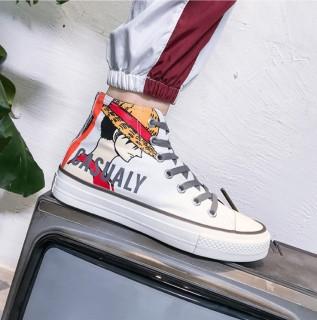 Giày nam cao cổ SUP kiểu dáng mạnh mẽ cá tính phong cách bụi bặm có đai điểm nhấn nổi bật MINH HÀ - 375 thumbnail