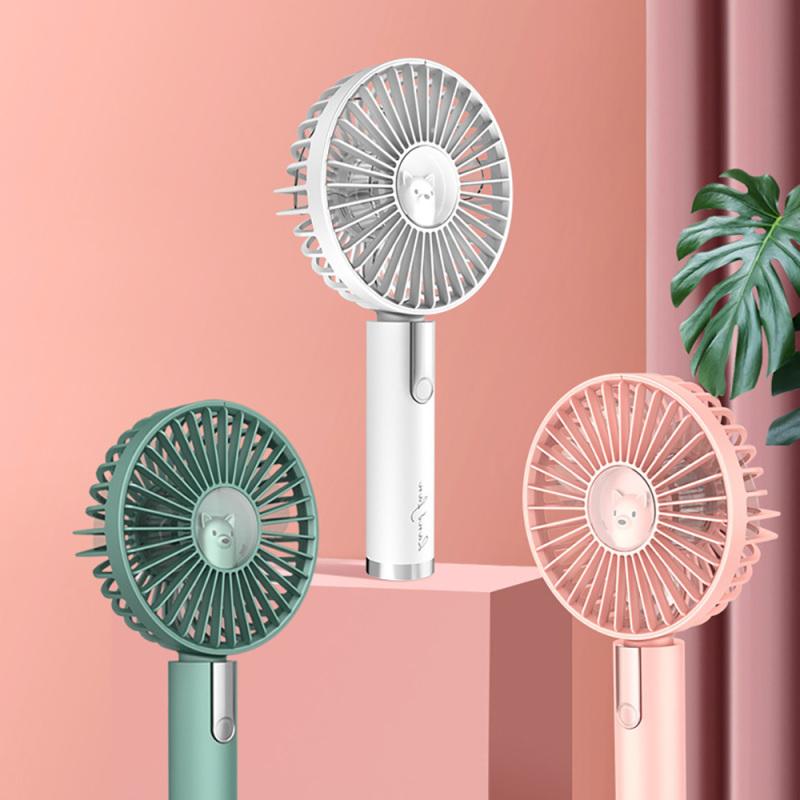Quạt cầm tay mini tích điện Hand-held Fan 1200mAh (phân khúc quạt chất lượng, đẹp & cứng cáp, pin trâu, gió mạnh)