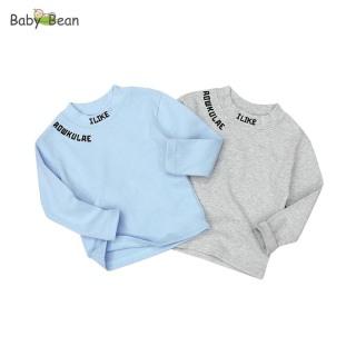 Áo Thun Cotton tay dài Bo Gân Thêu Chữ thời trang Thu Đông bé trai BabyBean (8kg - 20kg) thumbnail