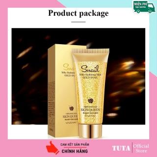 TUTA - Sữa Rửa Mặt tinh chất vàng & ốc sên VENZEN chống lão hóa dưỡng ẩm làm trắng da 100g GM-SRM1 thumbnail
