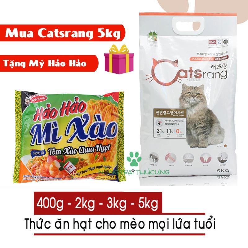 Thức ăn hạt cho mèo Hàn Quốc Catsrang - [Nông Trại Thú Cưng]