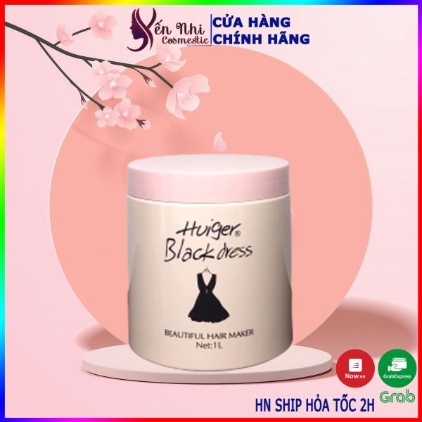 Kem ủ tóc collagen Huiger dầu hấp tóc phục hồi hư tổn 1000ml, mỹ phẩm tóc yến nhi