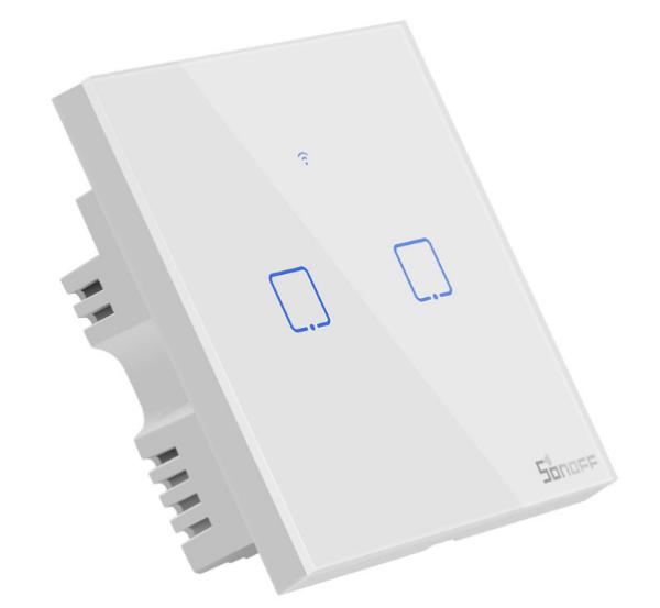 Công tắc WiFi RF cảm ứng T1/2UK2C-TX