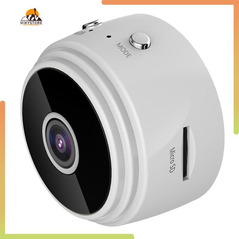 Hikystore Mini Máy Ảnh Ứng Dụng Giám Sát An Ninh HD, Camera Full HD 1080P Màn Hình Mạng WiFi IP Không Dây Góc Nhìn 90 Độ An Ninh Đêm Phiên Bản
