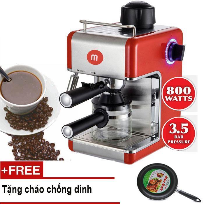 Máy pha Cafe Mishio MK05 + TẶNG CHẢO CHỐNG DÍNH