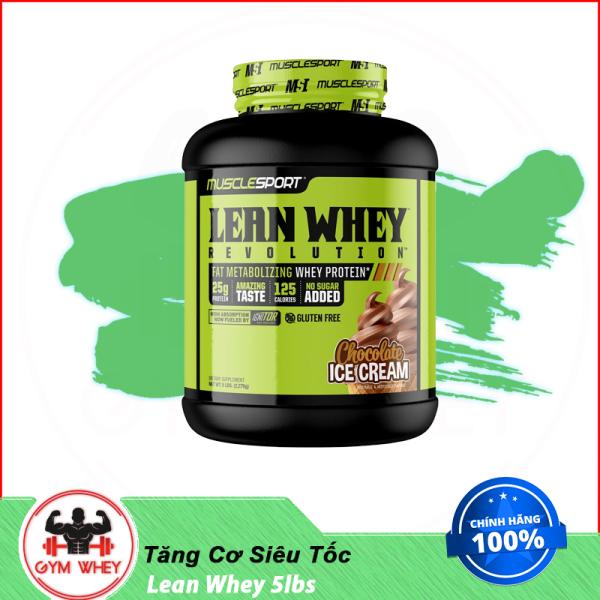 [HCM]Sữa Bột Dinh Dưỡng Hỗ Trợ Tăng Cơ Nhanh Muscle Sport Lean Whey 5lbs Authentic