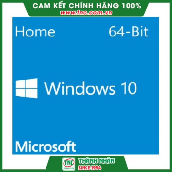 Bảng giá Phần mềm Microsoft KW9-00139 Win Home 10 64Bit Eng Intl 1pk DSP OEI DVD Phong Vũ