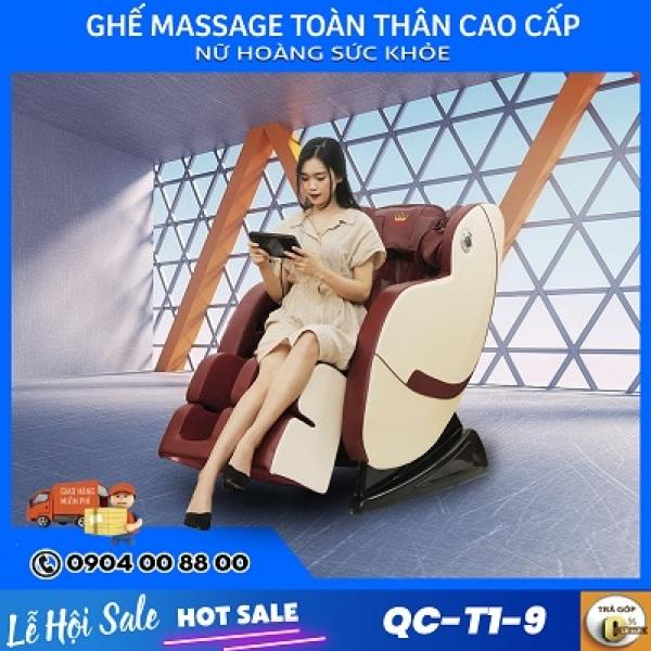 Ghế Massage Queen Crown QC T19 Điều Khiển Cảm Ứng