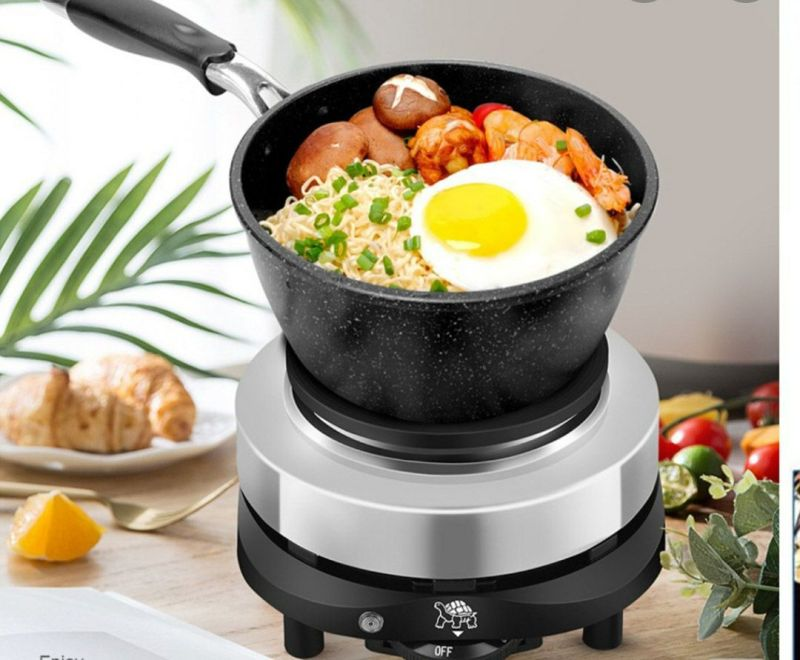 bếp điện mini 500w dùng được tất cả các loại nồi khác nhau