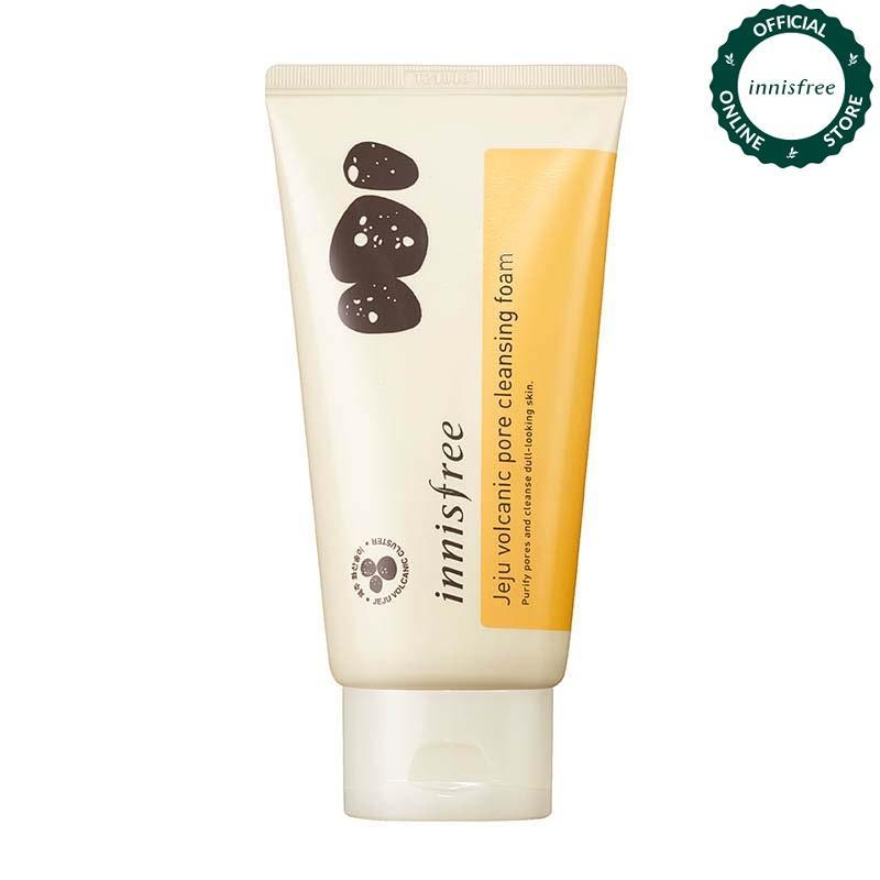 Sữa rửa mặt kiểm soát nhờn Innisfree Volcanic Pore Cleansing Foam 150ml tốt nhất