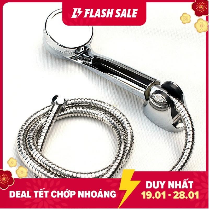 [HCM]Bộ tay dây sen siêu tăng áp phù hợp với tất cả các loại củ sen cây sen hoặc máy tắm nước nóng có trên thị trường - TAY SEN TS06