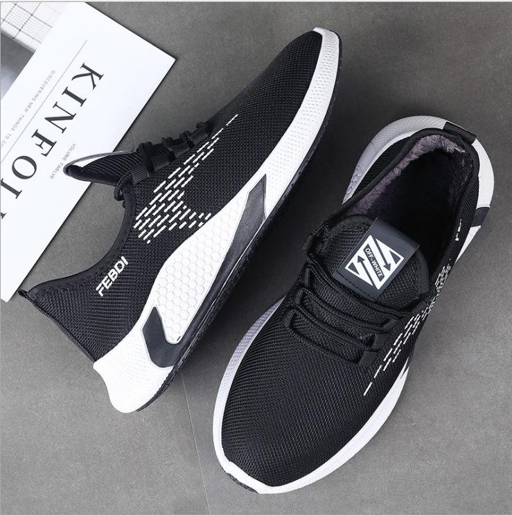 Giày Sneaker Nam FEBDI Đế Cao Su Siêu Êm Siêu Đẹp