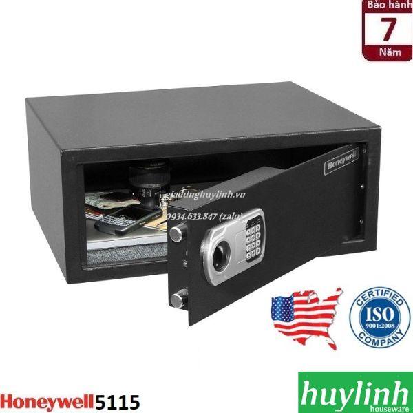 Két sắt điện tử khách sạn Honeywell 5115 - thương hiệu Mỹ