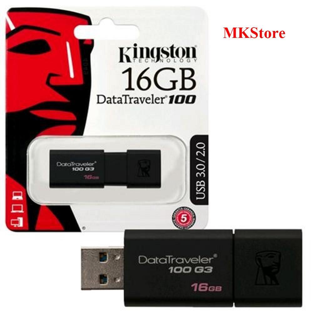 USB Kingston DataTraveler 16Gb 3.0 DT100G3 Nhật Bản