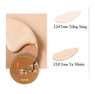 Phấn nước kiềm dầu NoVo concealer brightening skin cushion cream (tặng kèm lõi) No.5281 thumbnail