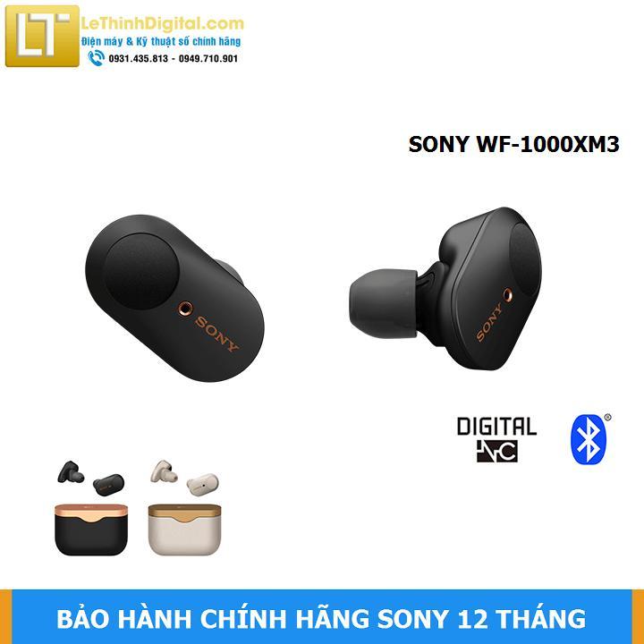 Giá Tiết Kiệm Khi Sở Hữu Tai Nghe Không Dây Chống ồn Sony WF-1000XM3 (ĐEN)