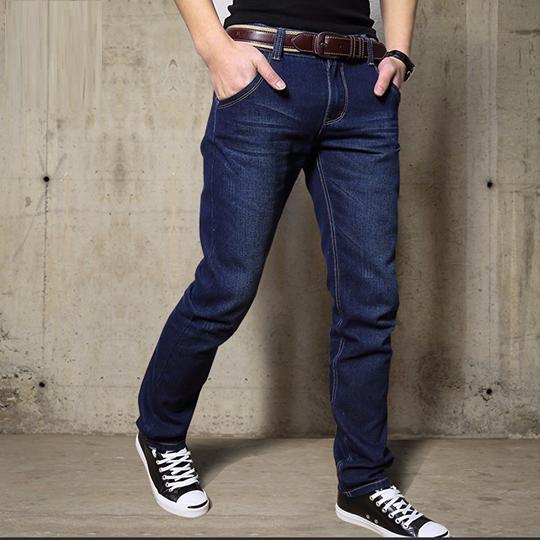 Quần Jean dài Nam Ống suông chất vải jean cotton mềm mịn, form chuẩn đẹp - Có size Bự Jean002