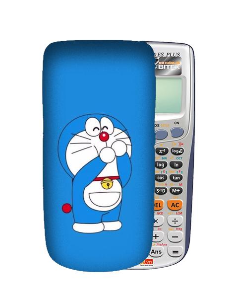 Mua Miếng dán decal dán máy tính casio/vinacal in theo yêu cầu hình Doraemon