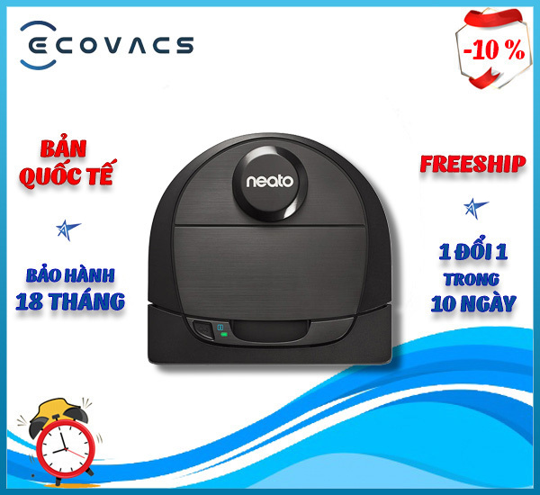 Robot hút bụi Neato Botvac D6 Connected .