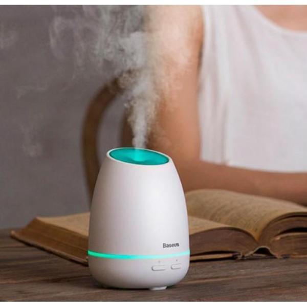 Máy phun sương, tạo ẩm, khuếch tán tinh dầu Mini Baseus Creamy-White Aroma