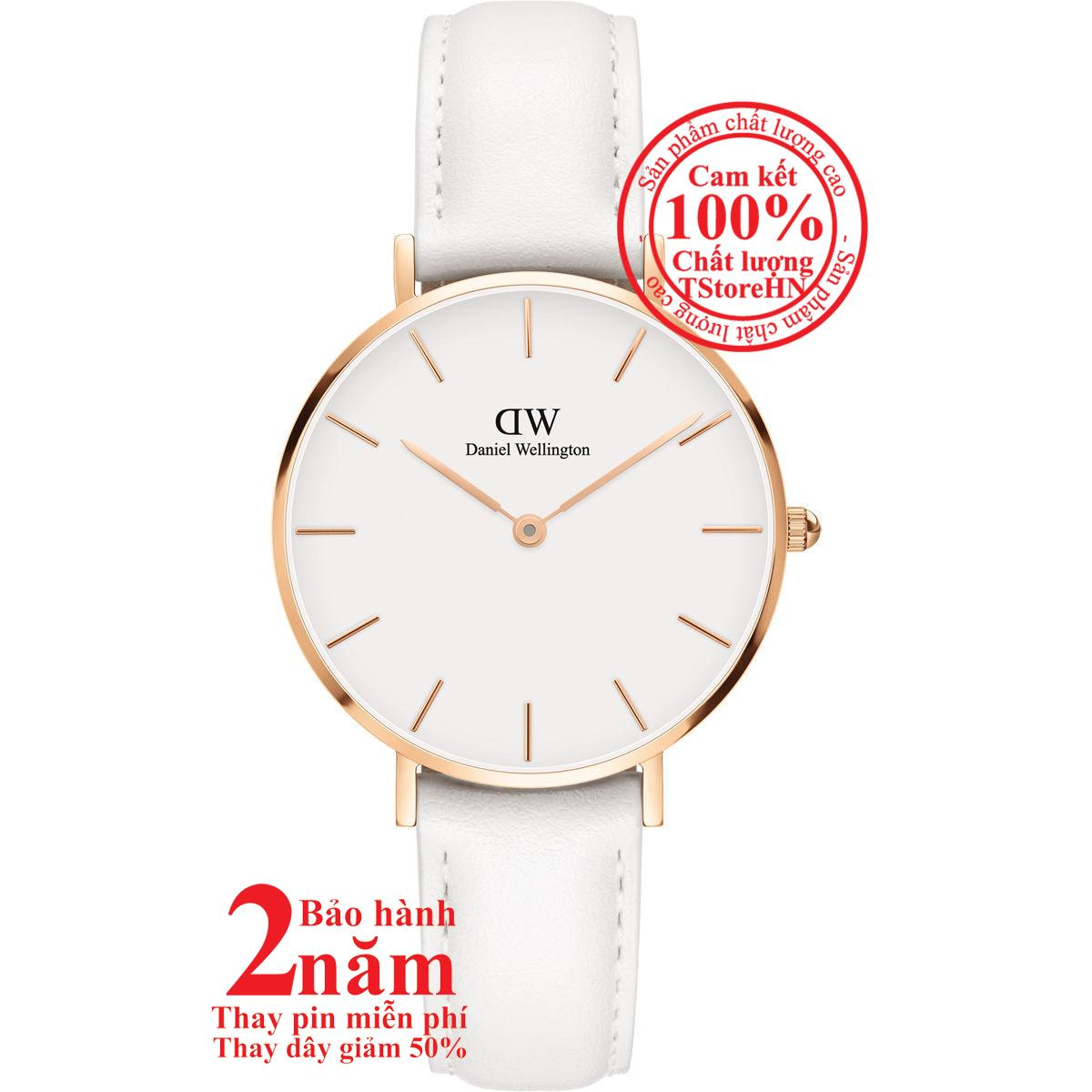 Nơi bán Đồng hồ nữ Daniel Wellington Classic Petite Bondi Ladies Watch - 32mm- Màu vàng hồng (Rose Gold), mặt Trắng (Silver) DW00100189