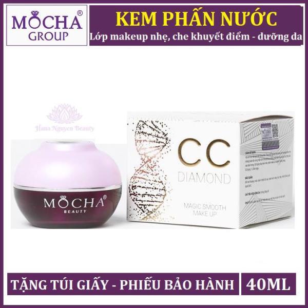 KEM PHẤN NƯỚC MOCHA 30GRAM - Che khuyết điểm kiêm dưỡng da - Hana Nguyễn Beauty cao cấp