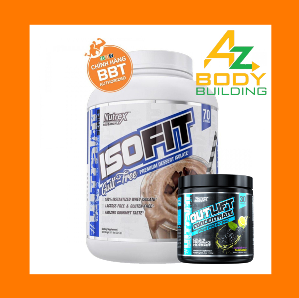 Whey Iso Fit Protein 100% Isolate