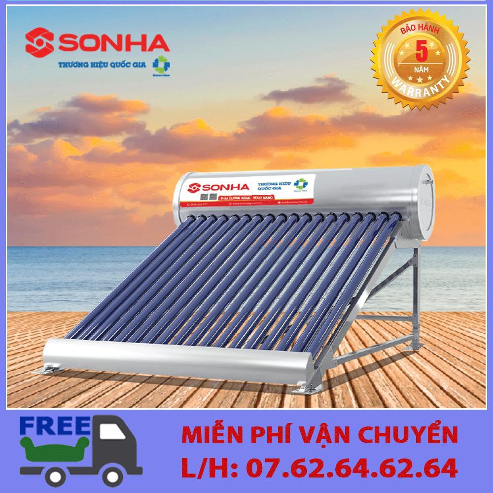 Máy nước nóng năng lượng mặt trời Sơn Hà Gold 58 - 140lít