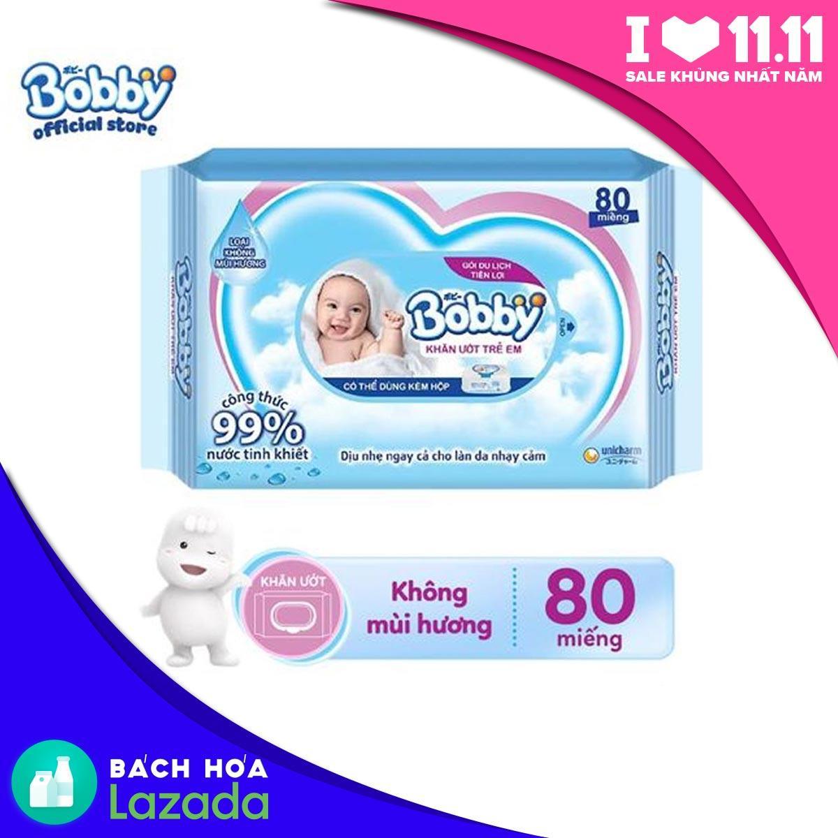 Thùng khăn ướt trẻ em Bobby Care gói bổ sung...