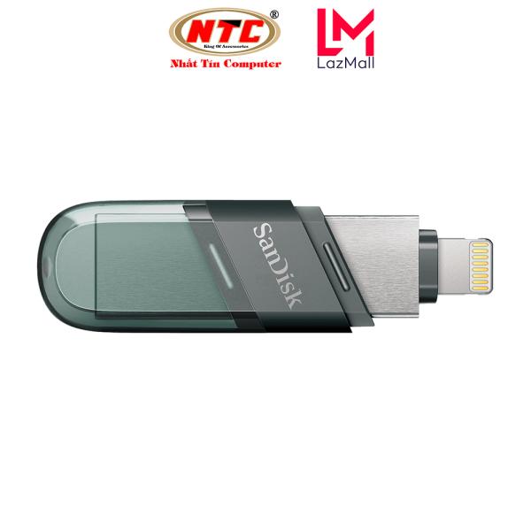 Bảng giá [Voucher 8% tối đa 800k cho đơn từ 150k] USB 3.1 OTG SanDisk iXpand Flash Drive Flip 32GB / 64GB / 128GB / 256GB (Bạc) - Nhat Tin Authorised Store Phong Vũ