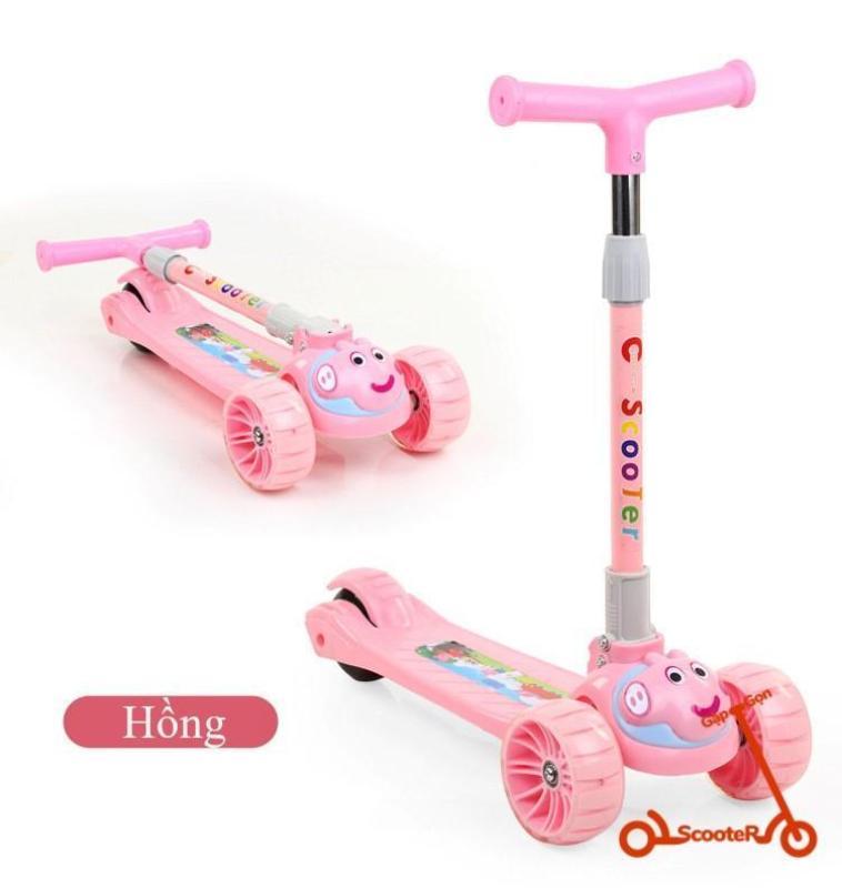 Mua Scooter thiết kế dễ thương có thể phát sáng và phát nhạc dành riêng cho bé