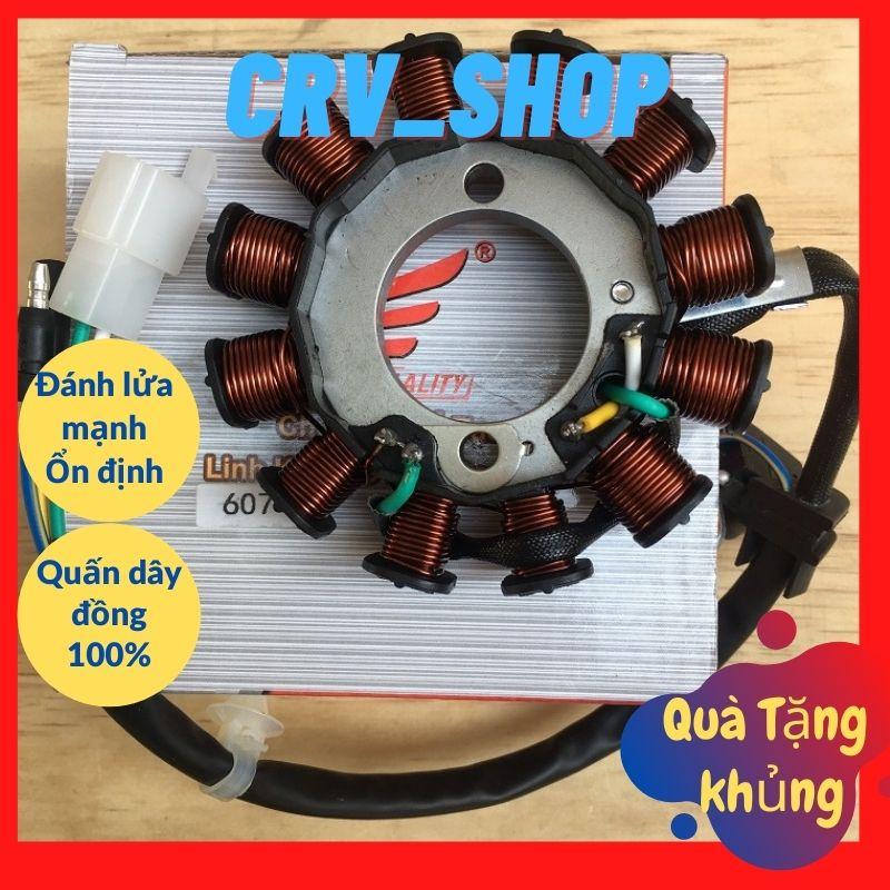 Cuộn lửa xe máy ( cuộn dây máy phát điện) xe Wave Blade