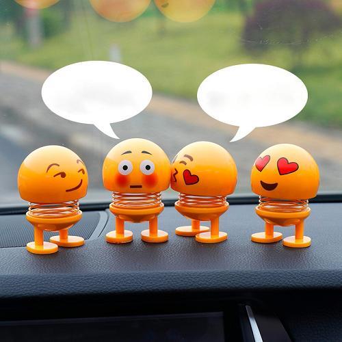 Emoji Lò Xo (Combo 4 Con) - Con Lắc Lò Xo - Emoji - Đồ Chơi Văn Phòng - Phụ kiện Ô Tô - Xe Đồ Chơi - Đồ Chơi Siêu Nhân - Đồ Chơi Lego - Đồ Chơi Trẻ Em - Con Lắc Lò Xo - Đồ Chơi Xe Hơi - Đồ Chơi Thông Minh